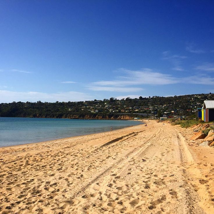 Summer comes early on the Mornington Peninsula. This is Safety Beach, just an hours drive south from Melbourne City