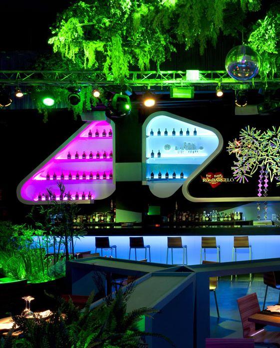 273 best bar & club design images on Pinterest | Discos, Commercial ...