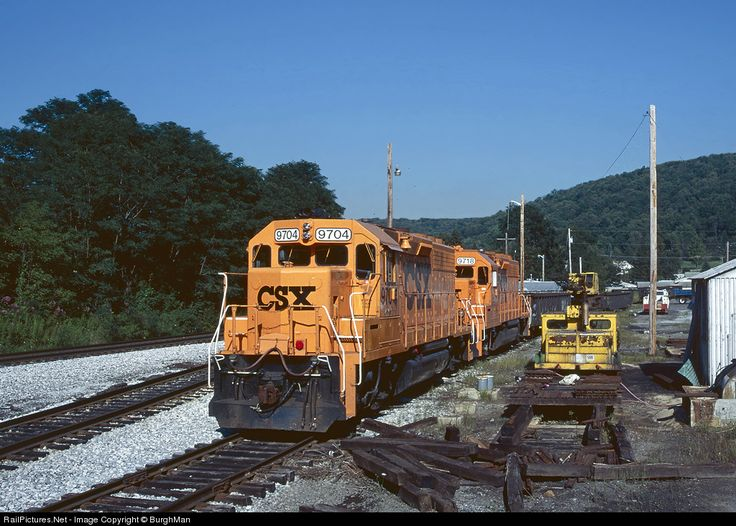 RailPictures.Net Photo: CSXT 9704 CSX Transportation (CSXT) EMD GP38 at Bayard, West Virginia by BurghMan
