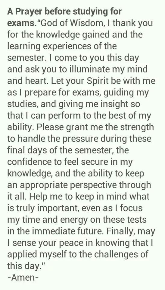 Image result for students prayer for exams
