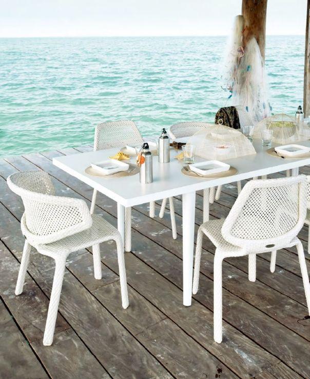 dedon seashell armlehnstuhl, hochwertige outdoor gartenmöbel, Attraktive mobel