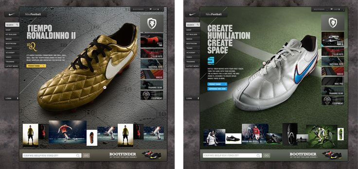 Nike Bootroom on Behance