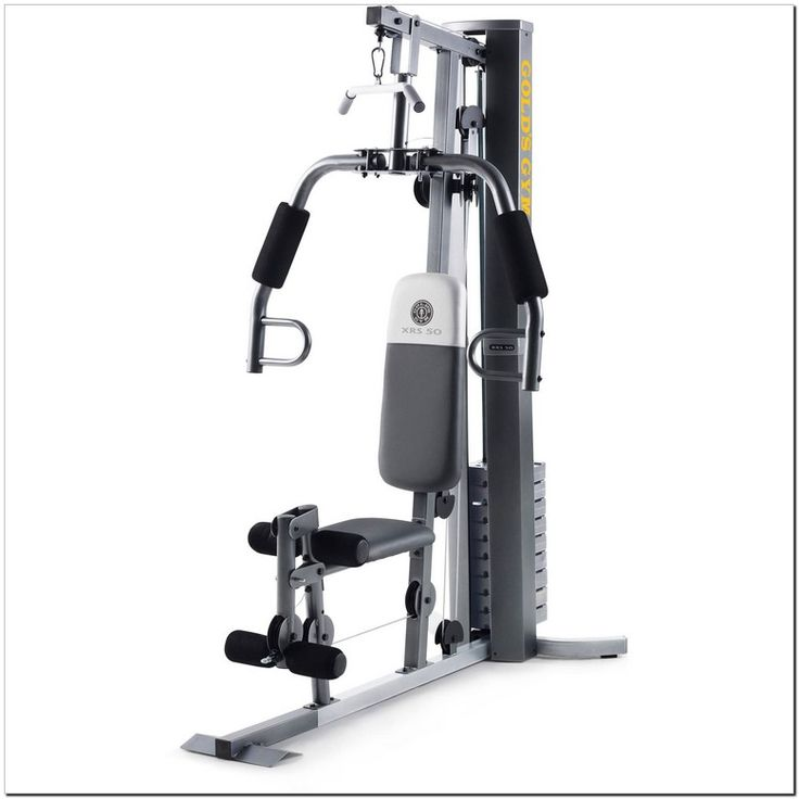 Affordable golds gym platinum olympic weight bench in