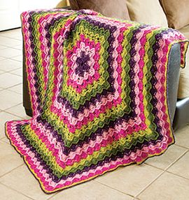Octagon Baby Afghan Crochet Pattern : 17 Best images about Free Crochet Pattern Downloads on ...