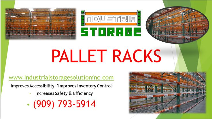 Durable, heavy duty, cost-effective pallet racks for sale. Need to expand your warehouse? Look no more and give Industrial Storage a call today for a free quote. December deal includes free delivery with orders over $2,000. Limit 100 miles.