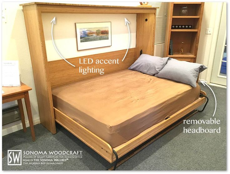 17 Best Ideas About Horizontal Murphy Bed On Pinterest