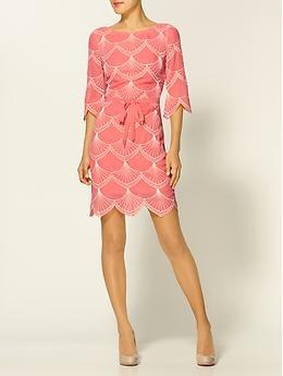 Trina Turk. Swoon.Pretty Dresses, Trina Turk, Fashion, Pink Dresses, Silk Dresses, Style, Chara Silk, Coral Obsession, I D Wear