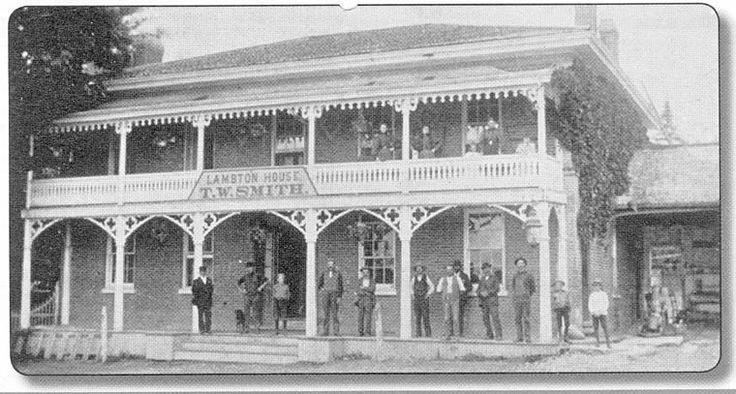 lost toronto: Lambton House/Lambton Mills/Old Dundas Street
