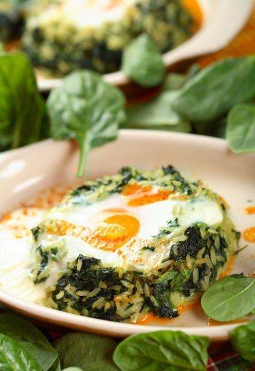 Recette de Gratin d'épinards au riz - Recettes pas chères: 10 recettes économiques pour manger pas cher