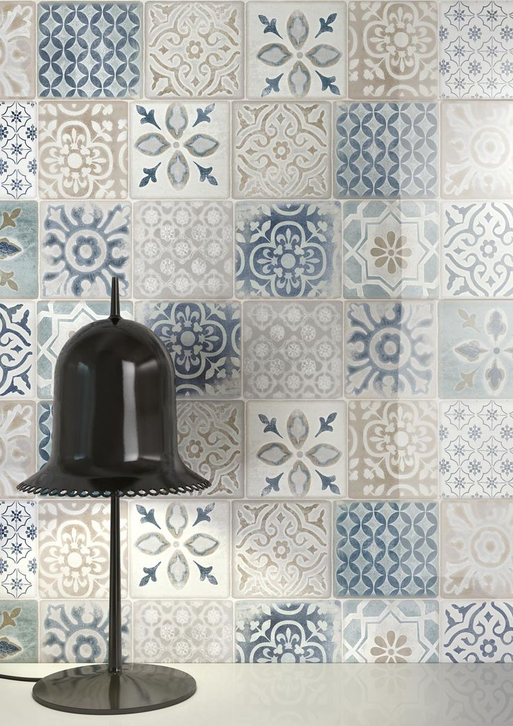 Aqua mix decor wall tile #porcelain