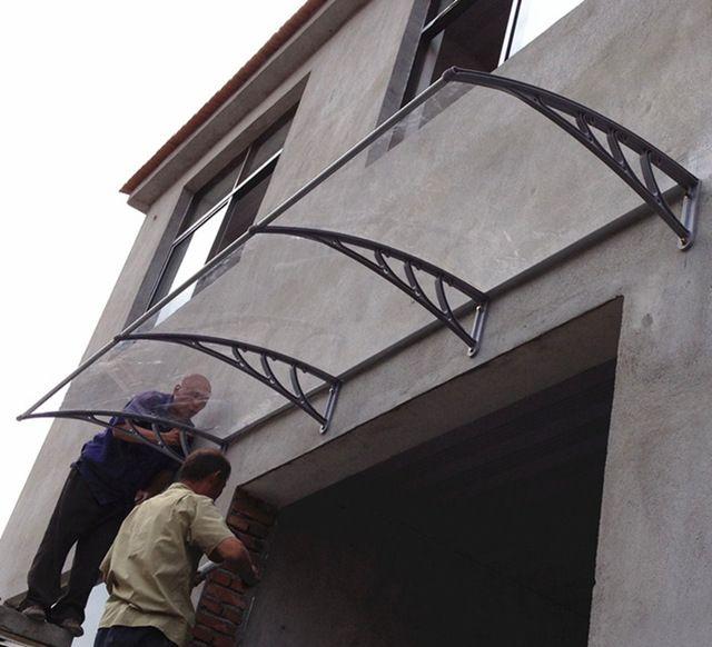 Source high quality Acrylic glass door canopy /awning on m.alibaba.com & The 25+ best Door canopy acrylic ideas on Pinterest | Restaurant ...