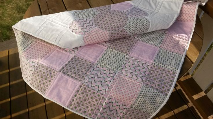 Scrap Quilt For A Baby Girl