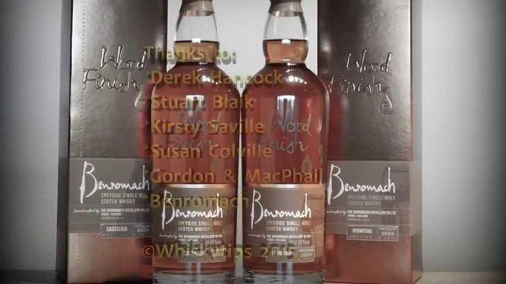 Derek Hancock (Gordon & MacPhail) explains about the latest Benromach Wo...