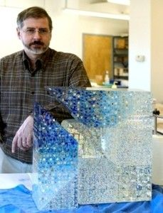Jon Kuhn-Architectural Glass Art-Glass Prism-Cold Glass Artists | Holsten Galleries Click picture for info