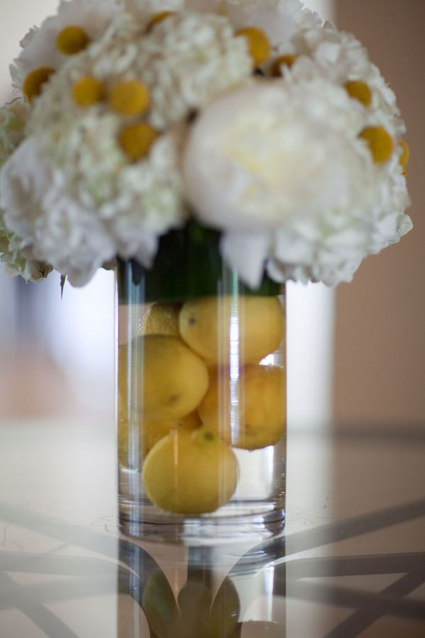 Lemon center pieces