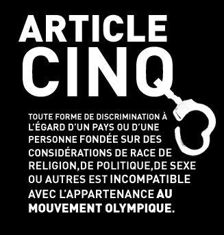 Article 5 de la Charte Olympique