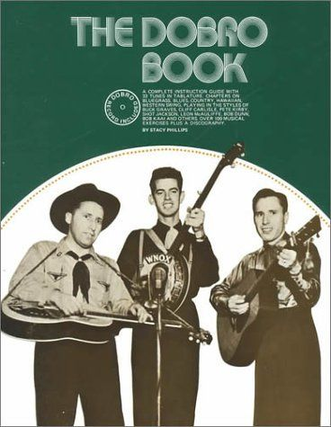 The Dobro Book by Stacy Phillips. The most complete guide by one of the best-known players, geared for every level. Includes all basic left- and right-hand techniques: hammering-on, harmonics, slant bar, playing chords, etc. Special section on Hawaiian music.