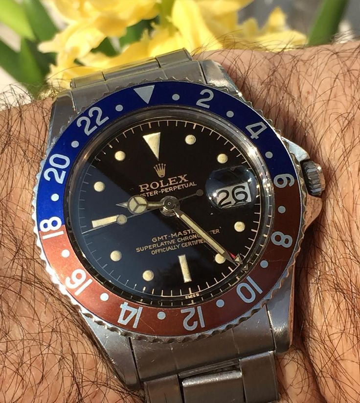 Rolex 1675 cornino untouched case and mirror perfect dial circa 1960 enjoy and good Easter week end