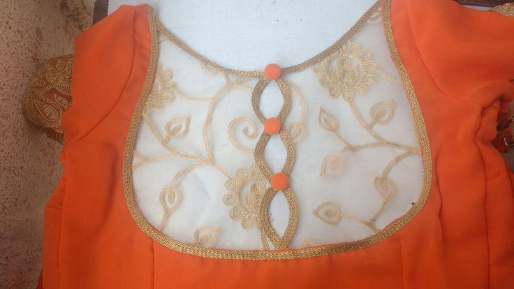Back neck pattern
