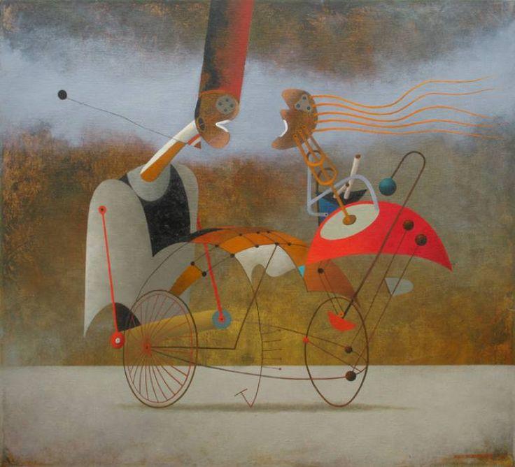 """Saatchi Art Artist Alex Berdysheff; , """"Waltz"""" #art"""