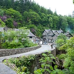 Betws-y-Coed, Wales - quaint little village, great for walkers