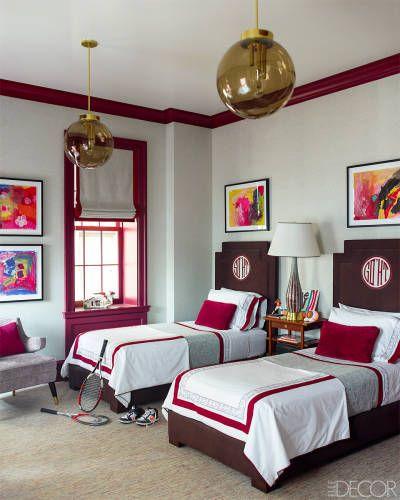 Steven Gambrel Boys Bedroom