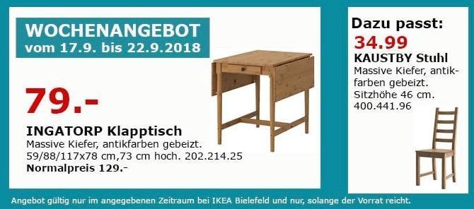 Ikea Bielefeld Ingatorp Klapptisch Ikea Ikea Bielefeld Und