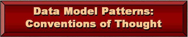 Data Modeling Patterns