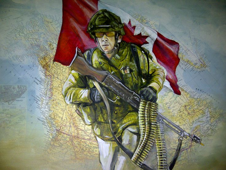 """Thank you Soldier"", acrylics on map by SD Baptista"