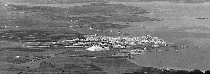 #Paros #History #Greece #Vintage #Parikia #1899!! Where #PelagosStudios is now located! #Old #Photo #View