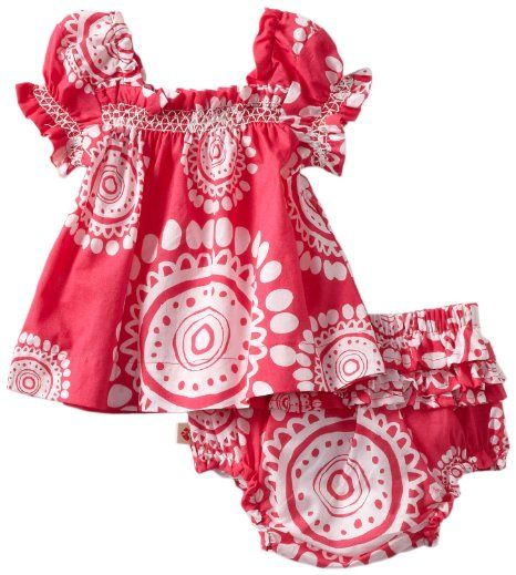 Amazon.com: Hatley - Baby Girls Infant Voile Dress with Bloomer, Mandala Pink, 18-24 Months: Clothing