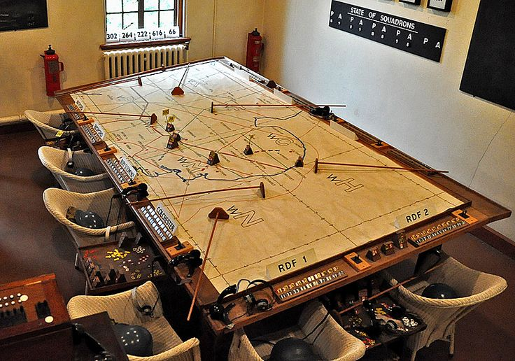 War Room Map Table