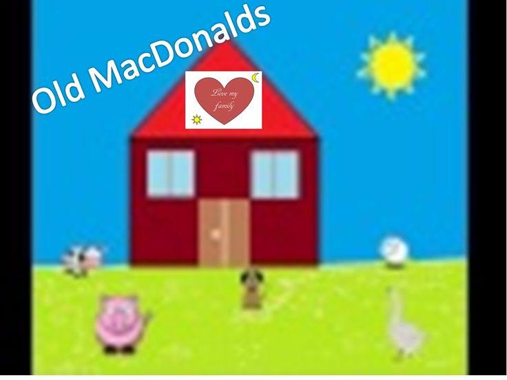 Old MacDonalds/Nella vecchia fattoria in inglese