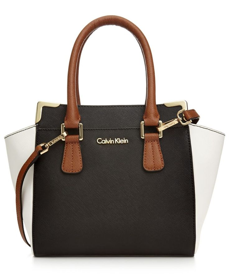 Calvin Klein On My Corner Saffiano Crossbody - Calvin Klein - Handbags & Accessories - Macy's