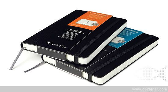 'Livescribe' Moleskine Notebooks Digitize Handmade Notes Almost Instantly