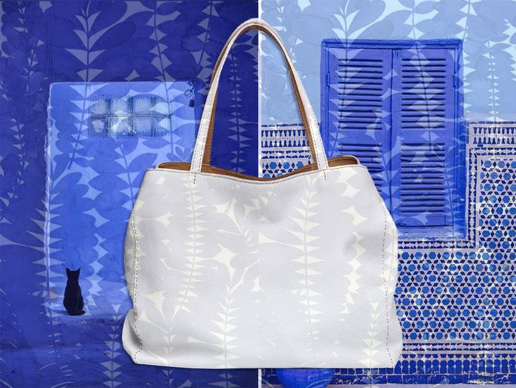 Inspired by Santorini today. Felisi 13/1 tote bag.