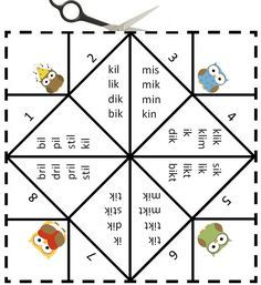 Vouwdobbelsteen met de letter i- Digibord Onderbouw