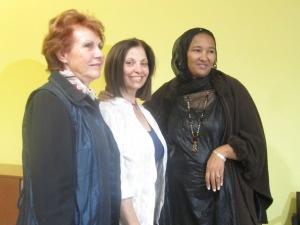 Fatimatà Walet Oumar  e Rossella Urru