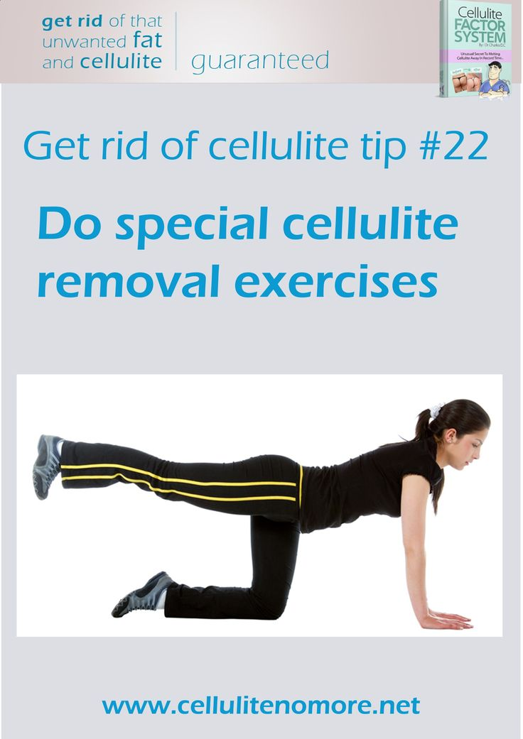 how to tone up legs and get rid of cellulite