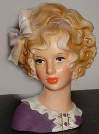 Vintage Lady Head Vase Napcoware | The Ladies - Chrissy's World of Lady Head Vase Collecting