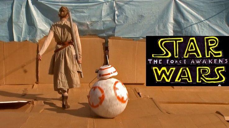 "Star Wars Ep. VII Ganha Trailer em Versão ""Sweded"""