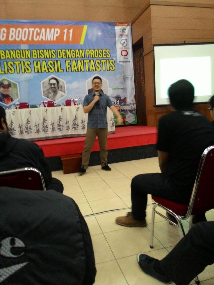 Jajaka Kulon: bandung bootcamp ke 11 di Ledeng Kampus UPI