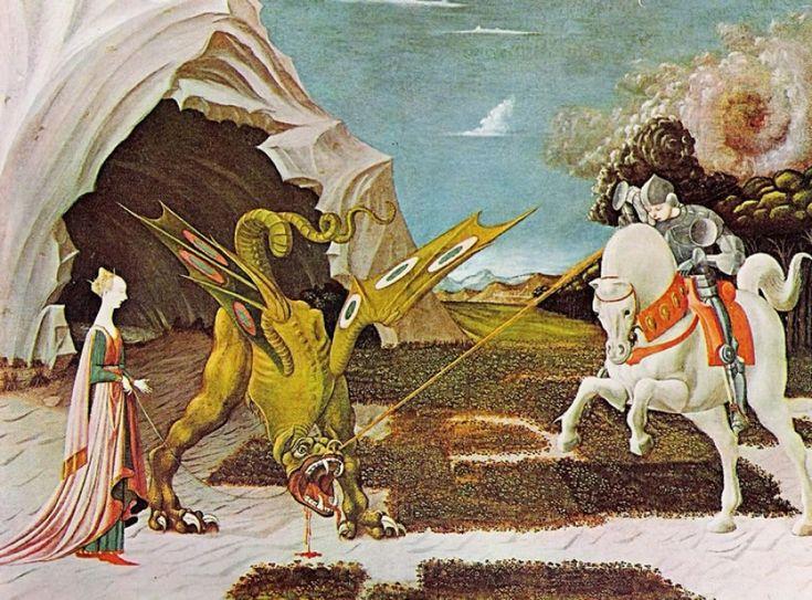 Paolo Uccello - San Giorgio e il Drago