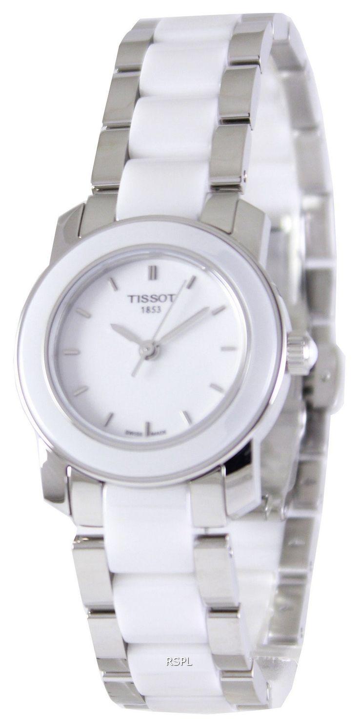 Tissot T-Lady Cera Quartz T064.210.22.011.00 Womens Watch