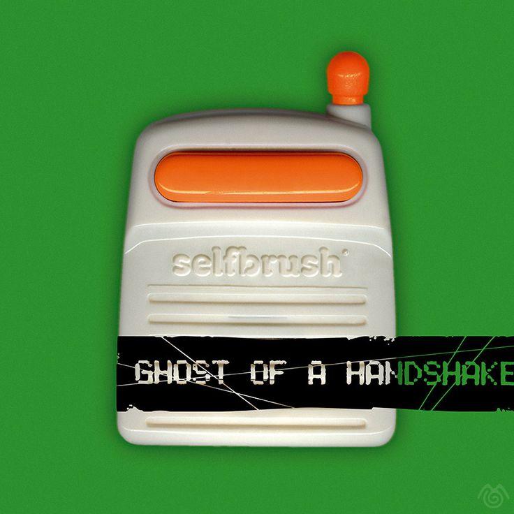 Album artwork by Maťo Mišík www.matomisik.com - Selfbrush — Ghost of a Handshake  #cdcover #albumartwork #albumart #coverart