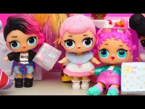 Abrindo Bonecas LOL Surpresa - Meninas no Camping com Playmobil Camper -Brinquedonovelinhas - YouTube
