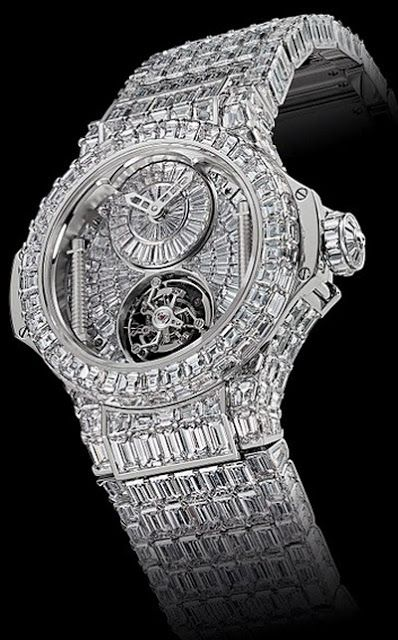 World's most expensive gents watch at 5 million dollars ,but that is just watches available from jewellery retailers who publish prices for all to see-the deserning billionaire buyers however prefer a much more unique bespoke custom built from a genius watchmaker option /the skies the limit price wise dependant on quality of diamonds,platinum use and length of time to hand build such a unique piece /but billionaires can afford luxury jets/ boats so a watch is small in compared to those…