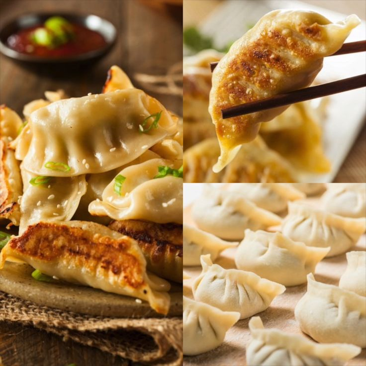 Chinese Dumplings – Potstickers Recipe