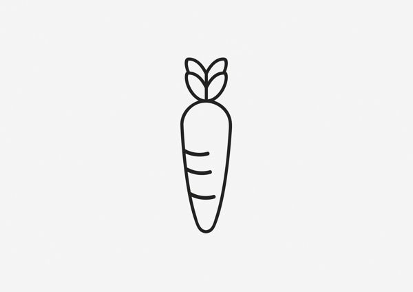 Fruits and Vegetables Pictograms on Behance