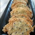 Faites vos propres biscuits apéro : crackers à la tomme de savoie